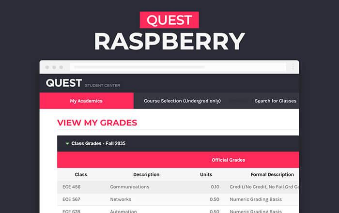 Quest Raspberry